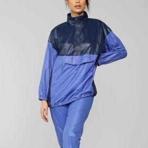 "Fashion Nova ""For The Hype"" Windbreaker"
